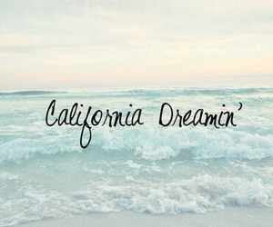 california, beach, and Dream image