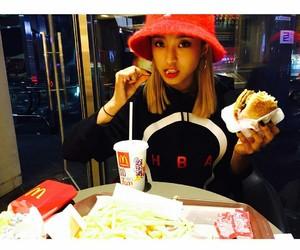 bora, food, and girl image