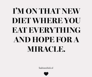 diet, hope, and miracle image