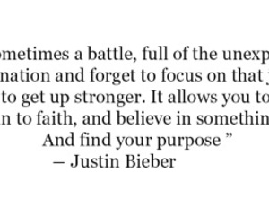 purpose, quote, and justinbieber image