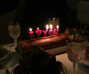 chocolate, romantic, and candles image