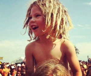 dreads and kid image