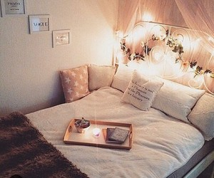 beautiful, bed, and love image