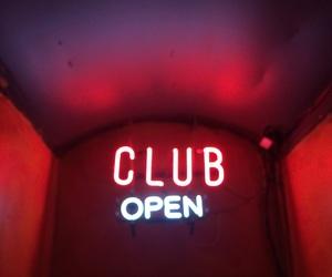 club, grunge, and light image