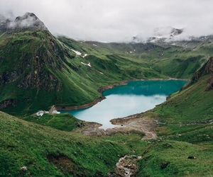 mountains, green, and nature image