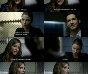 lucifer, lucifer morningstar, and chloe decker image