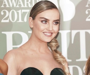 perrie edwards, little mix, and red carpet image