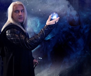 harry potter, lucius malfoy, and malfoy image