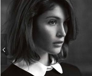 gemma arterton, model, and black and white image