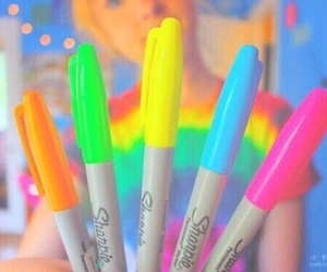 tumblr, colors, and Sharpie image