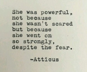 fear, quotes, and scared image