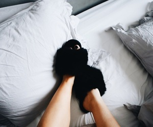 cozy, fashion, and in bed image