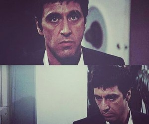 80's, gun, and scarface image