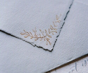 Letter, gold, and aesthetic image