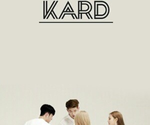 kard, bm, and jiwoo image