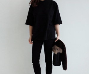 fashion, minimalist, and outfit image