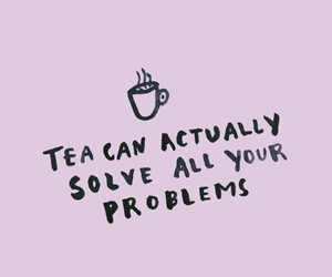 tea, quote, and pink image