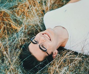 attractive, glasses, and handsome image