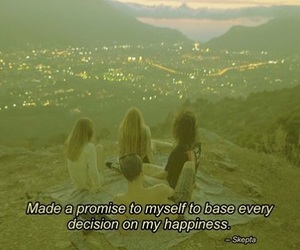 decision, happy, and promise image