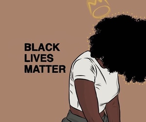 black, black lives matter, and melanin image