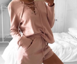 beauty, satin, and outfit ideas image