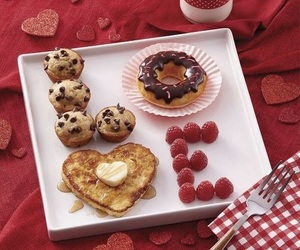 love, breakfast, and food image