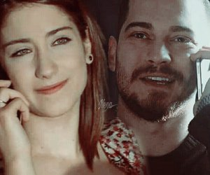 arabic, couple, and hazal kaya image