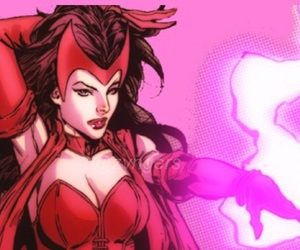 scarlet witch and marvel comics image