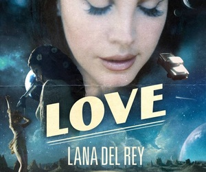 love, lana del rey, and music image
