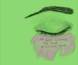 grunge, indie, and sad image