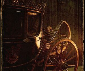 carriage and old image