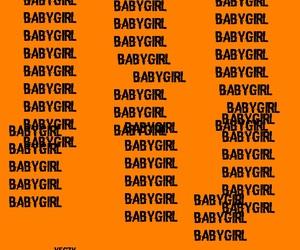 orange, aesthetic, and babygirl image