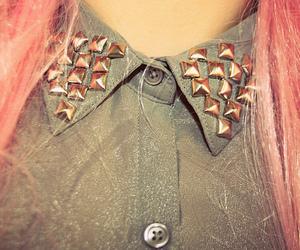 hair, pink, and shirt image