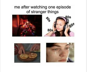 80s, relatable, and stranger things image