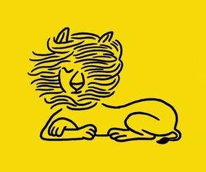 abstract, amarillo, and animal image