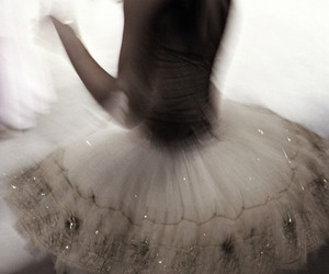 ballet, tutu, and dance image