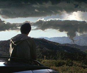 donnie darko, sky, and movie image