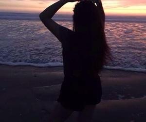 black, girl, and ocean image