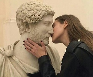 kiss, grunge, and art image