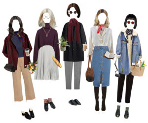 fall, grunge, and Polyvore image