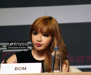 2ne1, asian girl, and park bom image