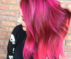 pastel, pinkhair, and rainbowhair image
