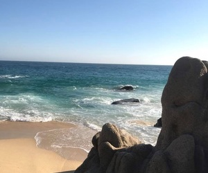 beach, Cabo, and mexico image