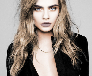 magazine, make up, and cara delevigne image