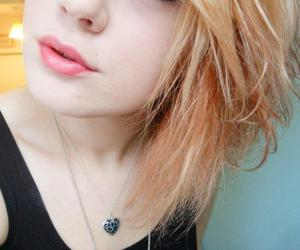 ginger, heart necklace, and ginger hair image