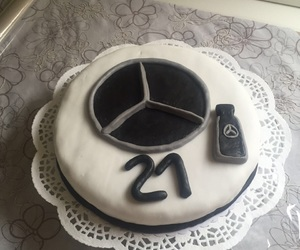 21, benz, and birthdaycake image