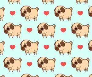pug, wallpaper, and background image