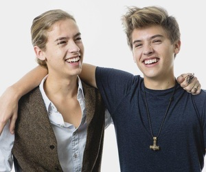 twins, sprouse, and boy image