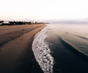 beach, beauty, and ocean image