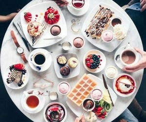food, sweet, and coffee image